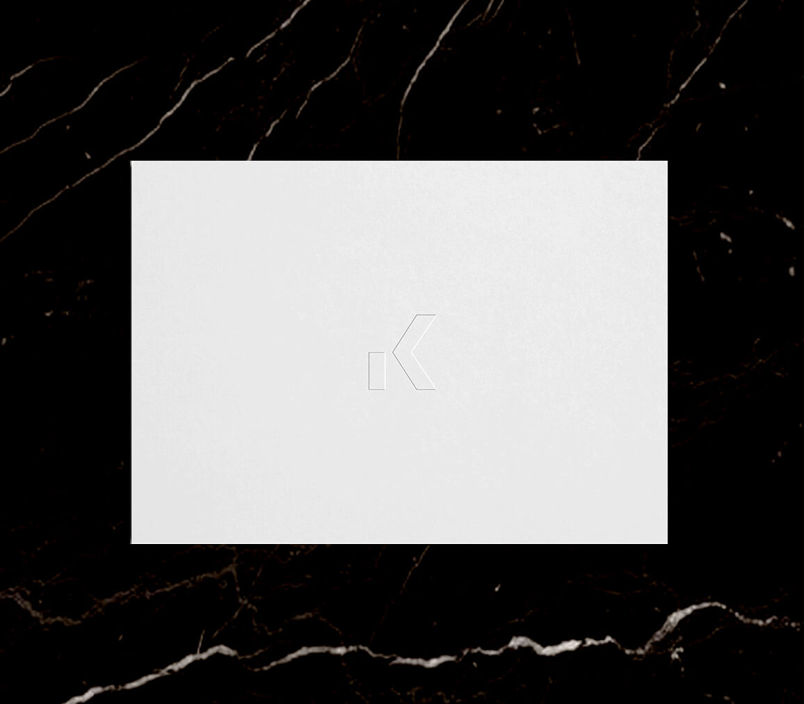 KEPT Home Embossed Note Card